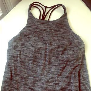 Lululemon tank with built in sports bra
